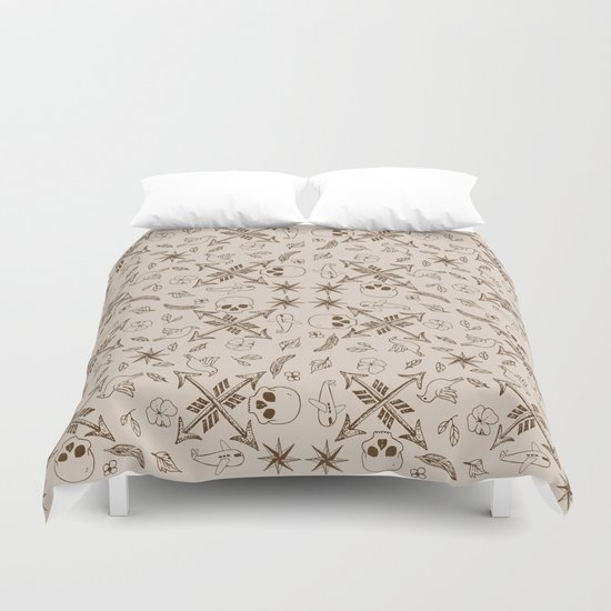 Where Are You Heading? Duvet Cover
