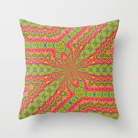 Ribbons and Bow... Throw Pillow