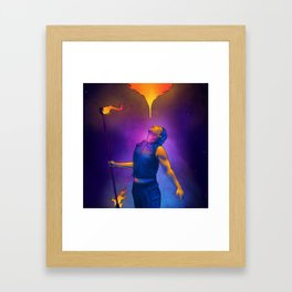Asa's Spirit Framed Art Print
