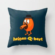 HeisenQbert Throw Pillow