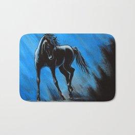 Midnight Blue Bath Mat