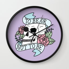 That is the Question Wall Clock