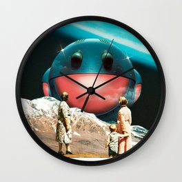 'Heavy Metal' Wall Clock