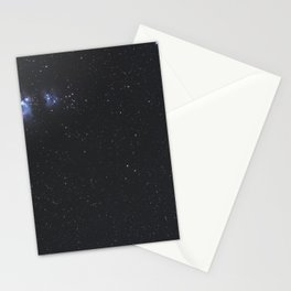 Great Nebula in Orion, Wide Angle View. Stationery Cards