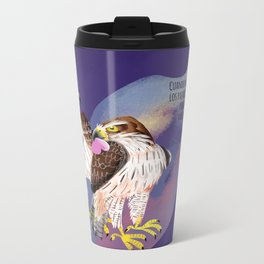 Totem Bonelli´s Eagle (GREFA) Ultraviolet Metal Travel Mug