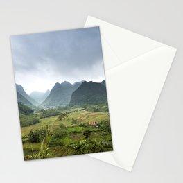 Bac Fils in Vietnam Landscape Stationery Cards
