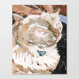 Zing The Kitty Canvas Print