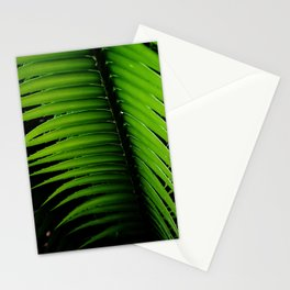 Palm tree leaf - tropical decor Stationery Cards
