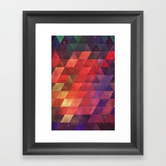ympty ympty Framed Art Print