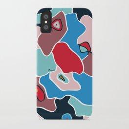 Color spots iPhone Case
