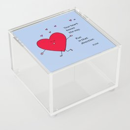 Your Heart Knows the Way Acrylic Box