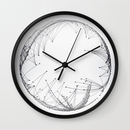Minimal Geometric Circle Wall Clock