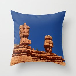 Dixie Forest Hoodoos Throw Pillow