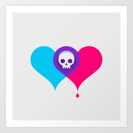 A Death-Marked Love Art Print