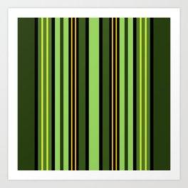 Nature's Stripes Art Print