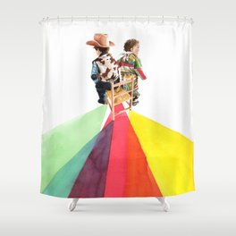 Pau siusplau Shower Curtain