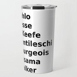 womxn artists Travel Mug