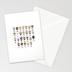 Pixel Star Trek Alphabet Stationery Cards