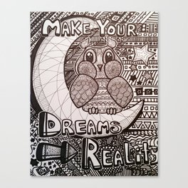 Make Your Dreams Reality Canvas Print