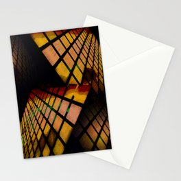 City Abstract View Stationery Cards