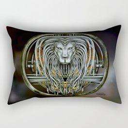 """""""Astrological Mechanism - Leo"""" Rectangular Pillow"""