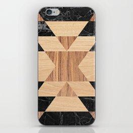 Marble Wood Kilim iPhone Skin