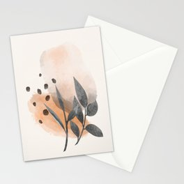 Modern Abstract Art IV  Stationery Cards