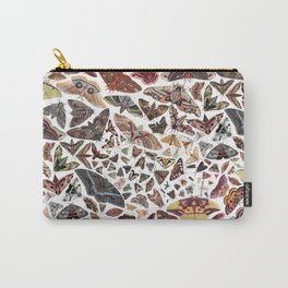 Moths of North America Pattern Carry-All Pouch