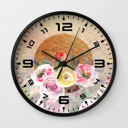 Flowers bouquet #43 Wall Clock