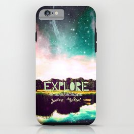 Explore your mind - for iphone iPhone Case