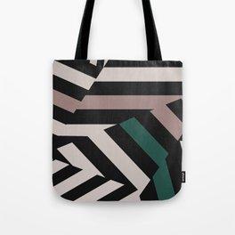ASDIC/Radar Dazzle Camouflage Graphic Tote Bag