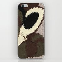 racoon iPhone & iPod Skins featuring Raino Racoon by René Barth