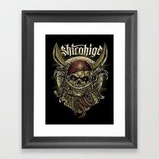 shirohige Framed Art Print