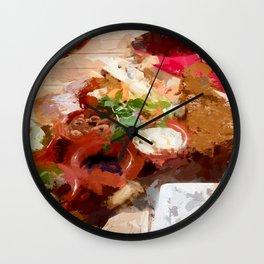 Breakfast for tourists in Groningen - Netherland Wall Clock