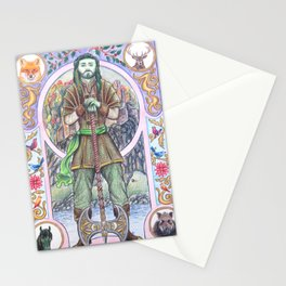 The Green Knight Stationery Cards