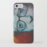 woody allen iPhone & iPod Cases featuring Woody Allen by Boaz