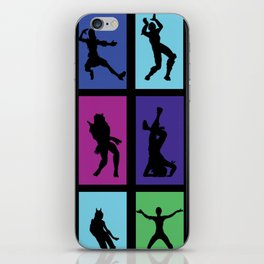 Fort Battle Dance Nite Royale iPhone Skin
