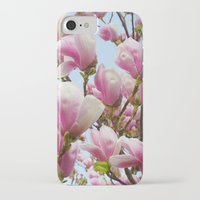 magnolia iPhone & iPod Cases featuring Magnolia. by Assiyam