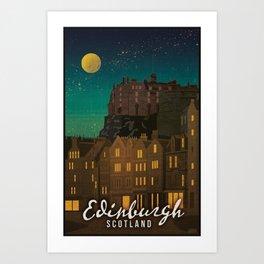 Scotland, Edinburgh Art Print