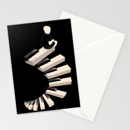 endless tune Stationery Cards