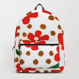 Orange Petal Power Backpack