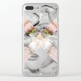 SALTIRE UNO Clear iPhone Case
