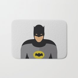 Bat-Man, Hero Adam West Bath Mat