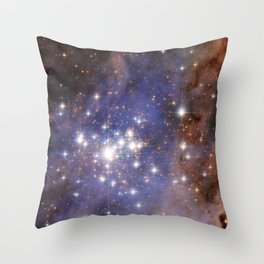 Stars like diamonds Throw Pillow
