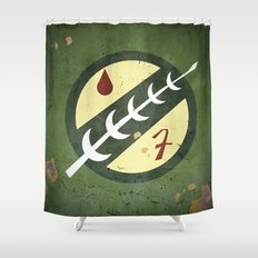 Mandalorian! (2 of 3) Shower Curtain