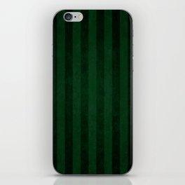 Emerald Stripes iPhone Skin