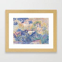 Garden at Saint-Clair Framed Art Print