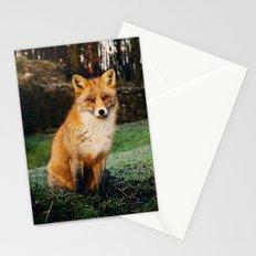 FRIENDLY FARM FOX VISIT Stationery Cards