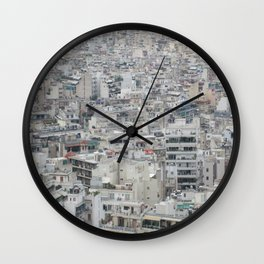 Earth Athens  Wall Clock