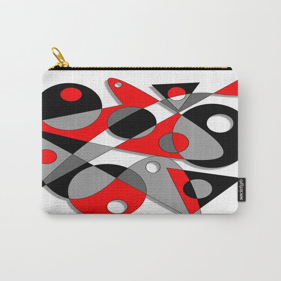 Abstract #81 Carry-All Pouch